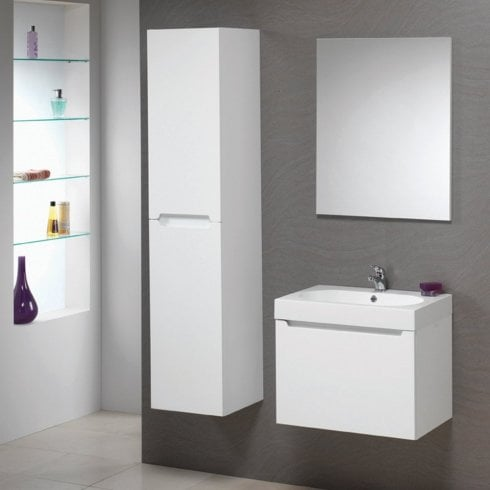 Genesis Radius 60 Wall Hung Base & Radius Basin