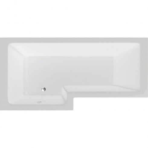 Genesis Vermont Shower Bath with Option 5 Whirlpool System - 1700 x 700mm