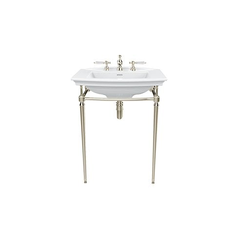 Heritage Bathrooms Abingdon Blenheim Wash Stand Vintage Gold