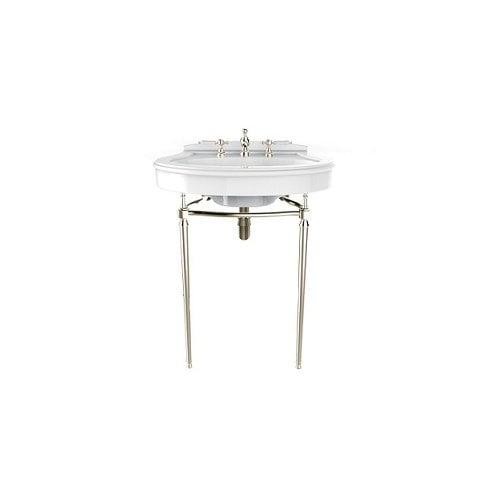 Heritage Bathrooms Abingdon Claverton Wash Stand Vintage Gold
