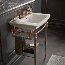 Abingdon Dorchester Wash Stand Rose Gold