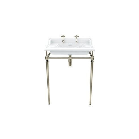Heritage Bathrooms Abingdon Dorchester Wash Stand Vintage Gold