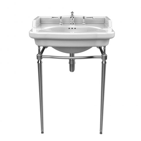 Heritage Bathrooms Abingdon - Victoria Chrome Washstand