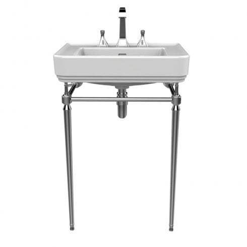 Heritage Bathrooms Abingdon - Wynwood Chrome Washstand