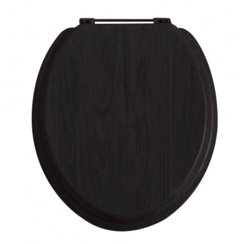 Heritage Bathrooms Black WC Seat
