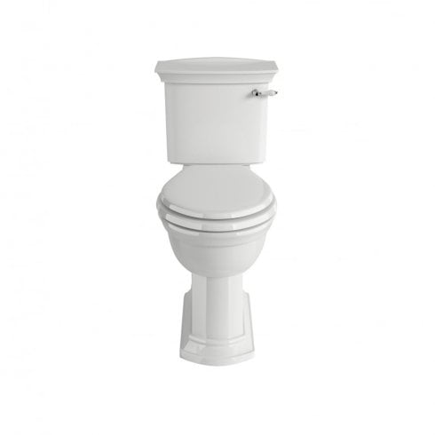 Heritage Bathrooms Blenheim - Close Coupled Comfort Height WC (Pan)
