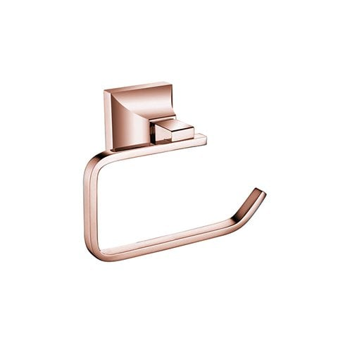 Heritage Bathrooms Chancery Toilet Roll Holder Rose Gold