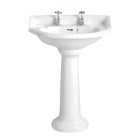 Heritage Bathrooms Dorchester - Standard basin 1TH/2TH/3TH