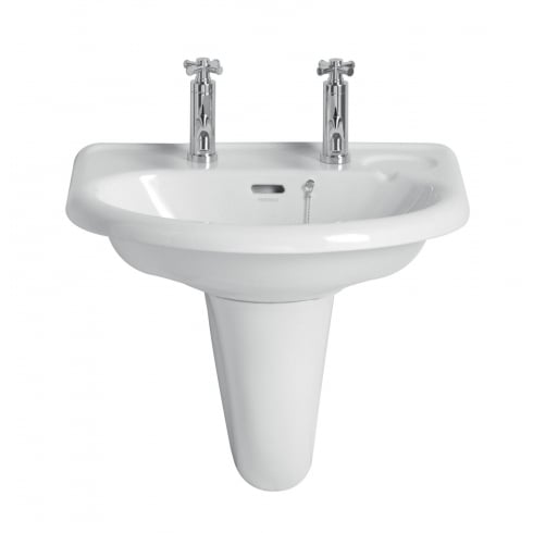 Heritage Bathrooms Dorchester - Wall Hung Pedestal