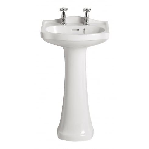 Heritage Bathrooms Rhyland - Cloakroom Basin 1TH or 2TH