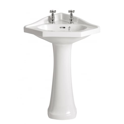 Heritage Bathrooms Rhyland - Corner Basin 2TH