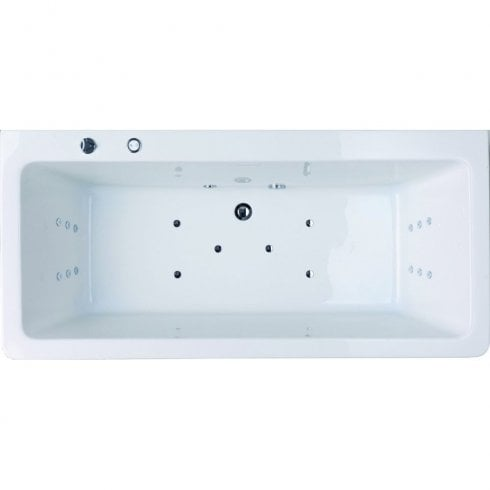 Iconic Aston Freestanding Bath with Option 5 Whirlpool - 1700 x 800mm