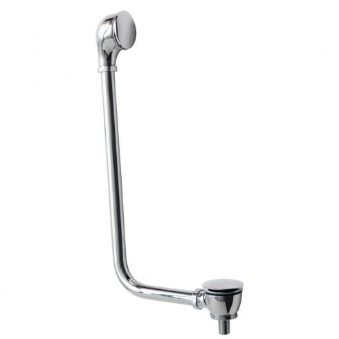 Iconic Exposed Click-Clack Bath Waste for Freestanding Bath