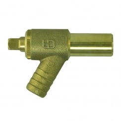 Brass Drain Cock 15mm