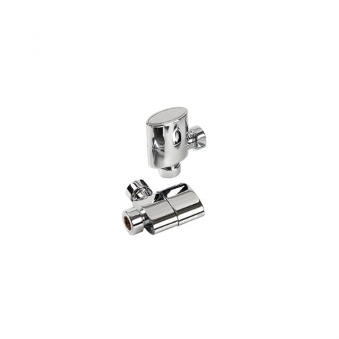 Kartell Aspen Radiator Valve Straight 15mm (Pair)