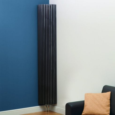 Kartell Cincinnati Design Radiator 276mm x 2000mm - Anthracite