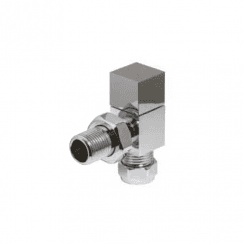Cube Angled Valve (pair)