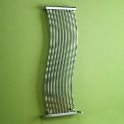 Miami Design Radiator 450mm x 1400mm - Chrome