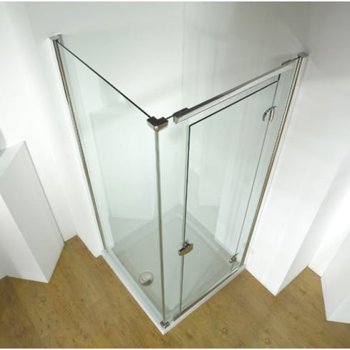 Kudos Infinite - Straight Hinged Doors and Enclosures RIGHT HAND