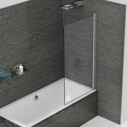 Kudos Inspire - Single Panel Bathscreen 1500mm x 850mm