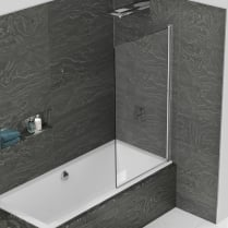 Inspire - Single Panel Bathscreen 1500mm x 850mm