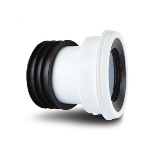 Polypipe Kwickfit 104° Pan Connector White SK44