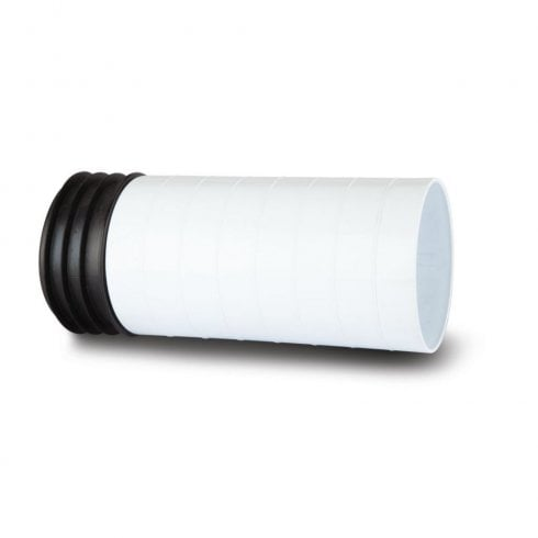 Polypipe Kwickfit Extension 200mm White SK48