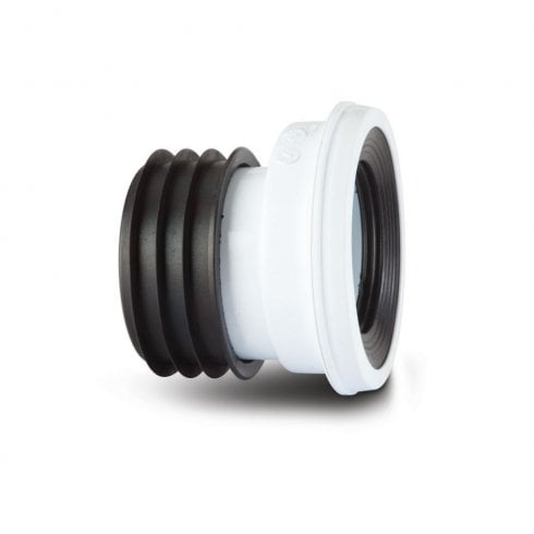 Polypipe Kwickfit Offset Pan Connector White SK46