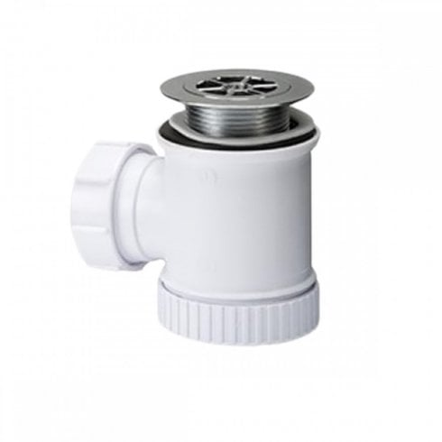 Polypipe Shower trap 19mm Seal (70mm Grid)