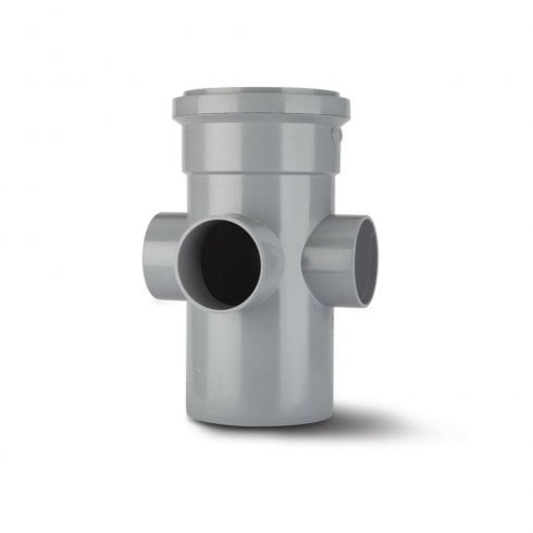 "Polypipe Soil Boss Pipe 4"" Grey SJ454G"