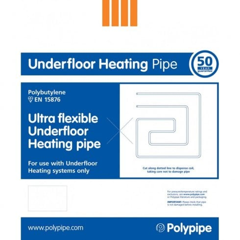 Polypipe Underfloor Heating Pipe