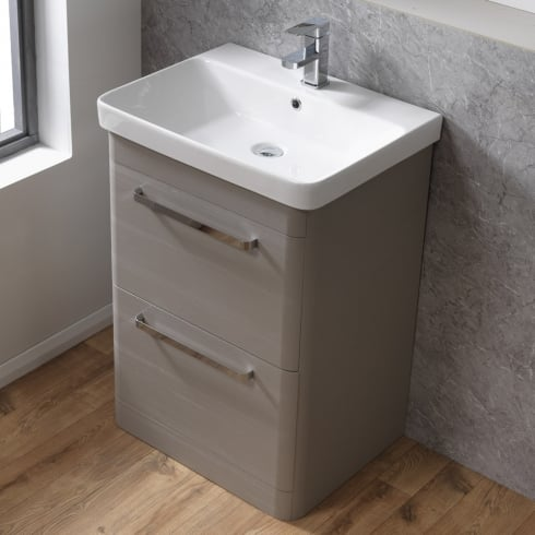 Qualitex - Ascent Furniture Cornell 600mm Floorstanding Base Unit & Basin