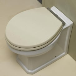 Grosvenor Back-to-Wall WC Seat Only