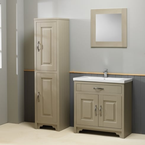 Qualitex - Ascent Furniture Grosvenor Basin & Base Unit with Column - 600 to 800mm