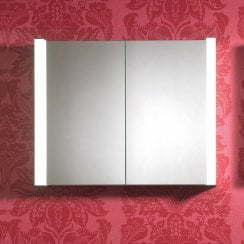Nimbus 800 x 650 x 152mm Mirrored Cabinet