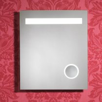 Prince 600 x 700mm Mirror with LED Lights, Cosmetic Mirror, Anti-Mist Pad & Sensor Switch