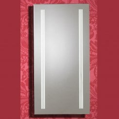 Roma 400 x 800mm Mirror with LED Light Strip, Anti-Mist Pad & Sensor Switch