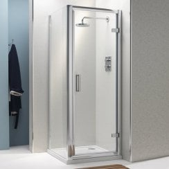 8mm Hinged Doors with Easy-Clean Glass