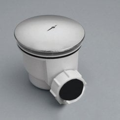 90mm Shower Trap & Removable Waste