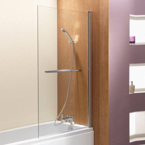 Qualitex - Ascent Showering Square Bath Screen - 1500 x 900mm