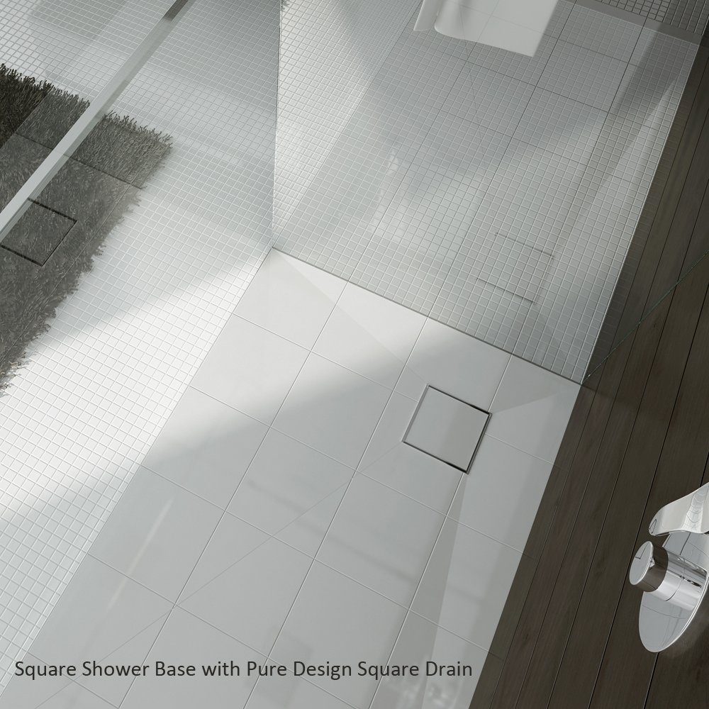 square base room qualitex trays wetroom image drain showering bathrooms shower ascent wet