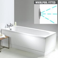 Ebony Bath with Option 2 Whirlpool