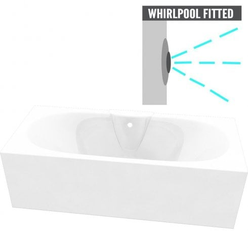 Nebraska Bath with Option 1 Whirlpool