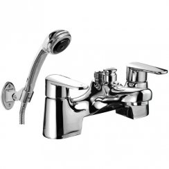 Alaska Bath Shower Mixer & Kit (2 Hole)
