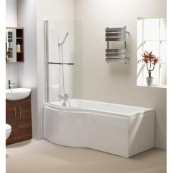 California Shower Bath, Screen & Front Panel - 1500mm & 1700mm