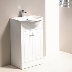 Destiny 500mm & 600mm 2-Door Base Unit & Basin