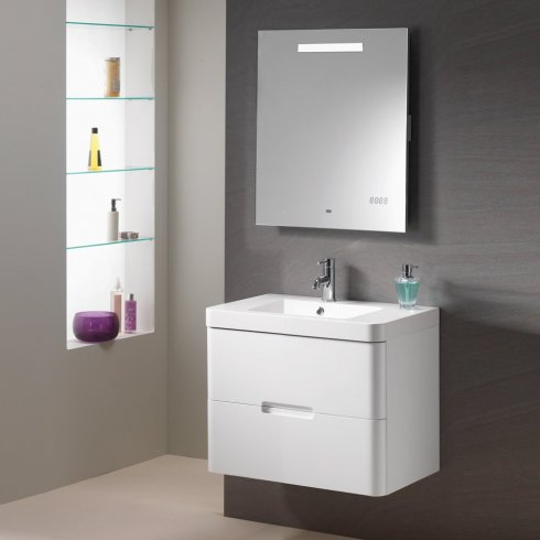 Qualitex - Genesis Eton Wall Hung Base Unit and Basin
