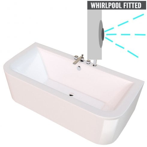 Qualitex - Genesis Kansas Bath & Skirt with Option 1 Whirlpool