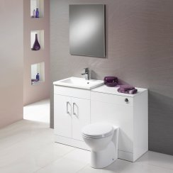 Monica 1200mm Base Unit & WC Unit Combination