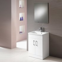 Monica Base Unit and Basin - 500mm to 900mm